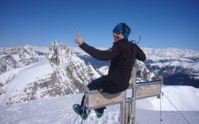 Keine Skitouren – keine ausgedehnten Bergtouren. Wie ich mir die Lebensfreude vom Berg nach Hause hole.
